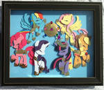 [SOLD] Elements of Harmony Shadowbox 16x20 in.