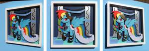 Shadowbox:  Gala Dress Rainbow Dash