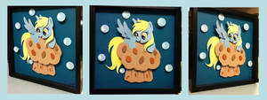 Giveaway:  Derpy on ze Muffin Shadowbox