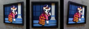 Shadowbox:  Gala Dress Rarity