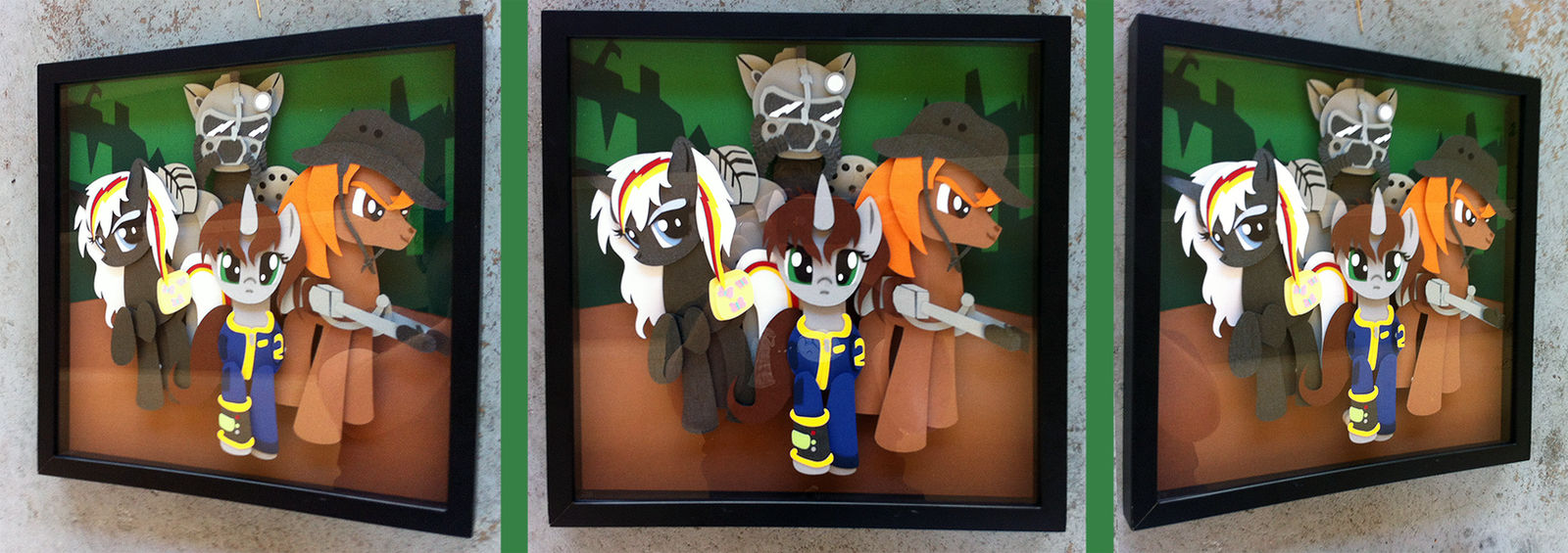 Commission:  Fallout Equestria Shadowbox