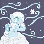 Commission:  Snowdrop Shadowbox Mock-up