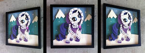Commission:  Hearth's Warming Eve Rarity Shadowbox