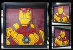 Commission:  Iron Man Shadowbox