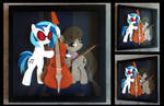 Commission:  Vinyl Scratch and Octavia Shadowbox