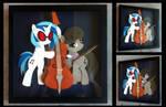 Commission:  Vinyl Scratch and Octavia Shadowbox