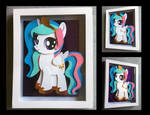 Shadowbox Filly  Celestia