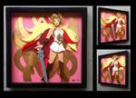 Commission:  She-Ra Shadowbox