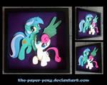 Shadowbox:  Lyra and Bon Bon