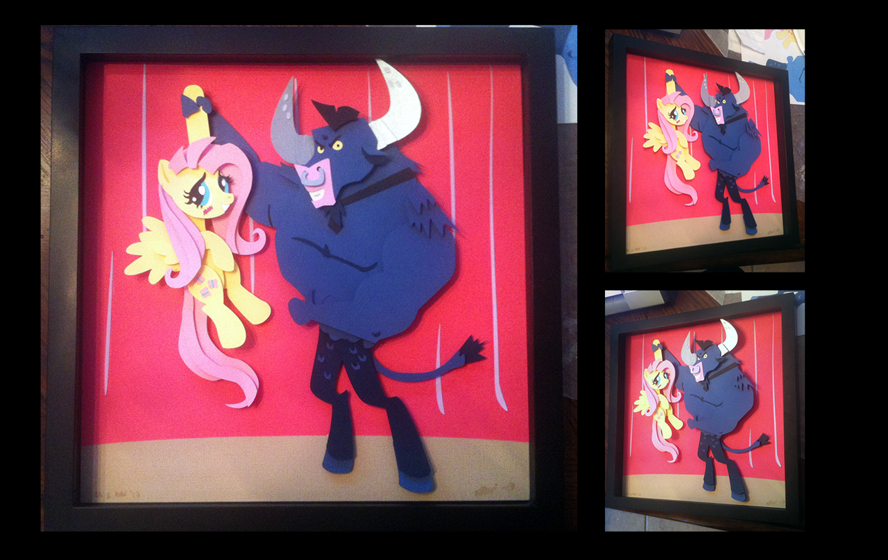 Gift:  Iron Will and Fluttershy
