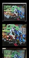 Commish: FOE - Project Horizons 24 x 18 Shadowbox