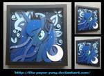 Commission: Gamer Luna Shadowbox
