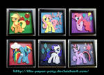 Mane 6 and Cutie Marks Collection
