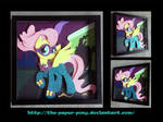 Shadowbox: Saddle Rager/Fluttershy