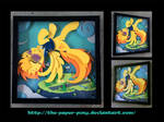 Commission: Spitfire Shadowbox