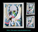 Commission: Stained Glass Celestia
