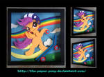 12 x 12 Scootaloo Shadowbox