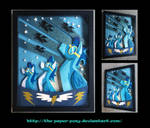 11 x 14 The Wonderbolts Poster Shadowbox