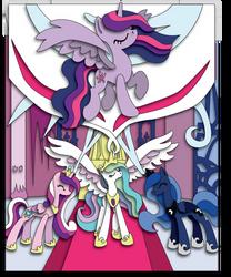 Commission: Twilight's Kingdom Shadowbox Mockup