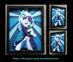 Stained Glass Rarity Shadowbox