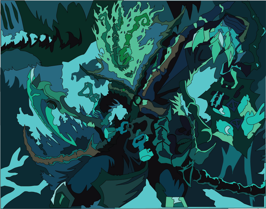 League of Legends: Classic Thresh Mockup by The-Paper-Pony