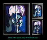 11x14 Darkside of a Luna Shadowbox