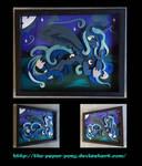 11x14 Princess Luna Shadowbox