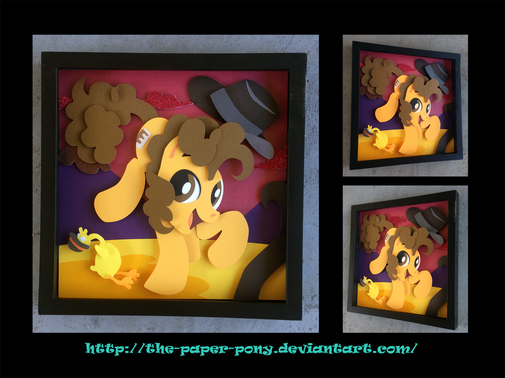 12x12 Cheese Sandwich Shadowbox by The-Paper-Pony