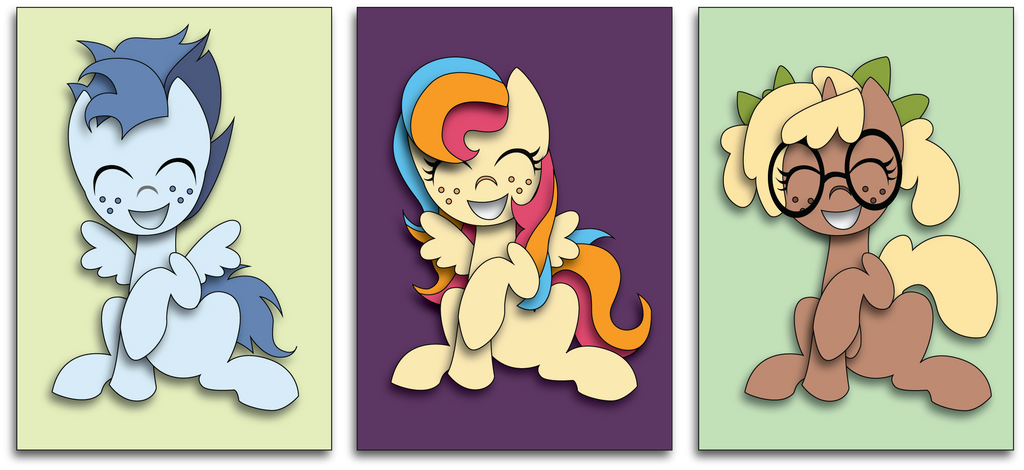 Mascots by The-Paper-Pony