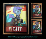 11X14 War Maud Pie Poster Shadowbox