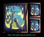 11X14 Queen Chrysalis Shadowbox
