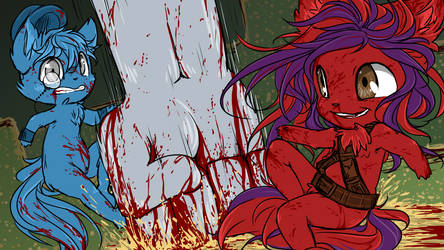Minx plays: Bloody Trapland. by smnius