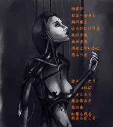 cyborg girl 1 by khoete