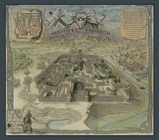 Minotaur's Labyrinth by ricsnodgrass