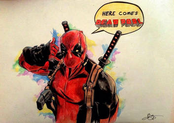 DeadPool by murrojp