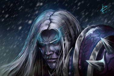 Arthas, Lich King by murrojp