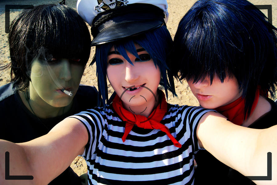GoRiLLaZ Cosplay 182 Photo by Hikarulein