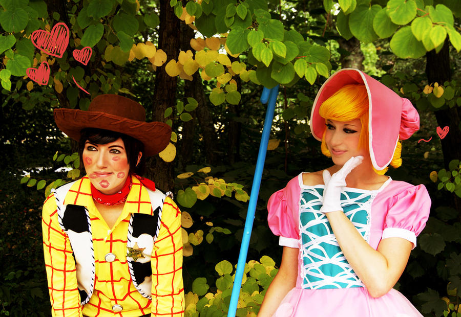 Toy Story Cosplay 3 Woody Bo by Murdoc-lein