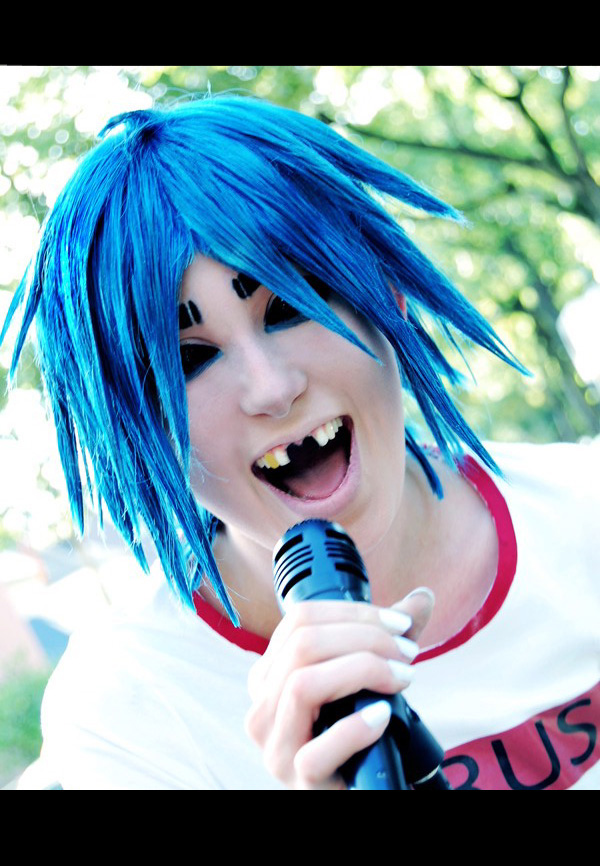 gorillaz cosplay 217 2d scream by murdoclein on deviantart