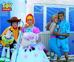 Toy Story Cosplay 4 Group