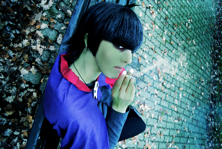 GoRiLLaZ Cosplay What's up? by Hikarulein