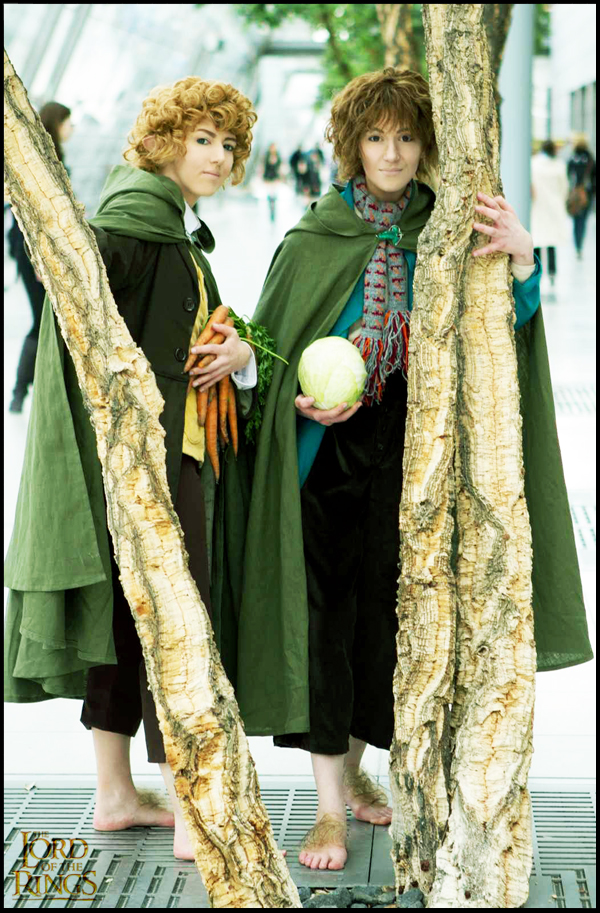 LotR Cosplay Merry Pippin 1 by Murdoc-lein