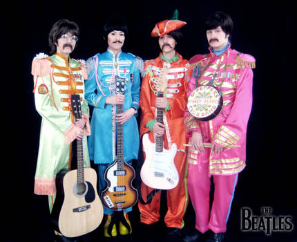 Sgt. Pepper's Lonely Hearts Club - Beatles Cosplay by Murdoc-lein