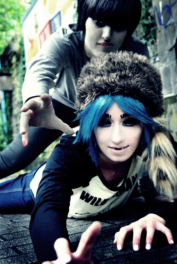 gorillaz mudz 2d cosplay back from plastic beach by