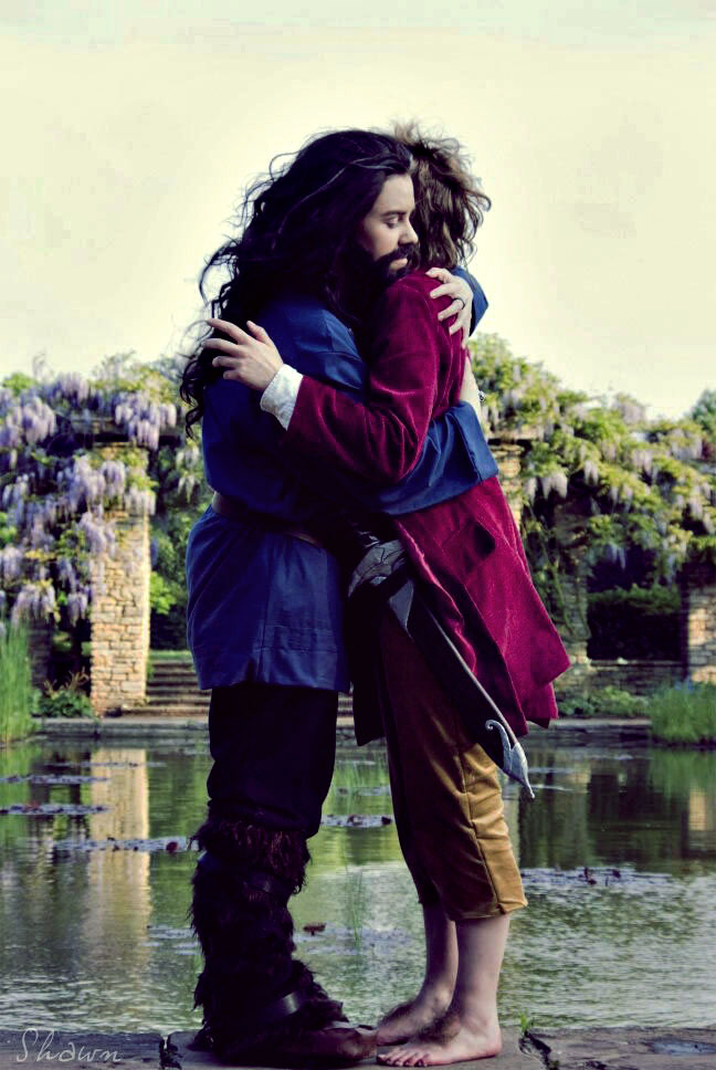 I've never been so wrong - Thorin + Bilbo Cosplay by Murdoc-lein