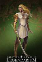Glorfindel concept art by LegendariumStudio