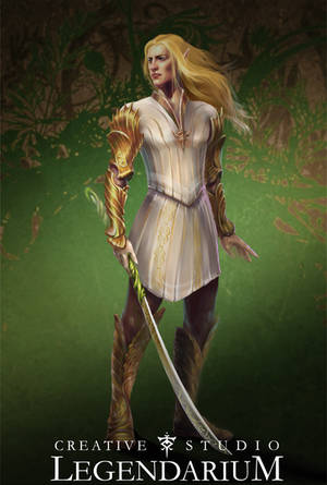 Glorfindel concept art by LegendariumStudio