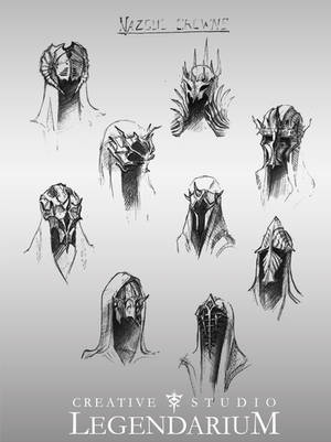 Nazgul Crowns by LegendariumStudio
