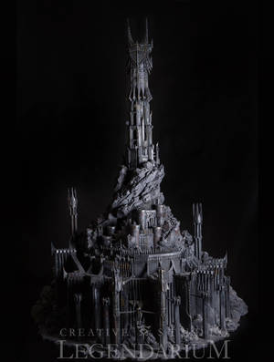 Barad-Dur miniature by LegendariumStudio