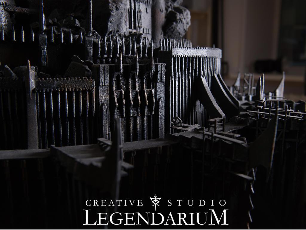 Barad-Dur details by LegendariumStudio